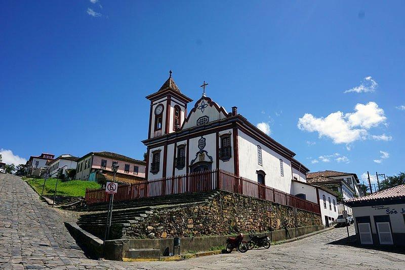 cidades mineiras igreja sao francisco assis diamantina