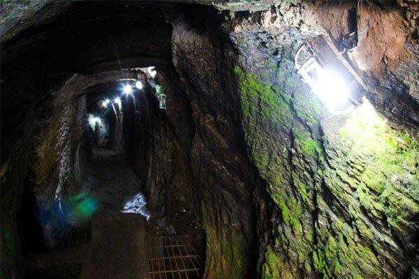 Os caminhos da Mina Chico Rei Ouro Preto