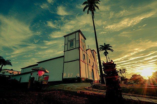 imagem: Igreja do Rosário em Pirenópolis