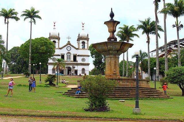 imagem: Vassouras - Praça Barão de Campo Belo