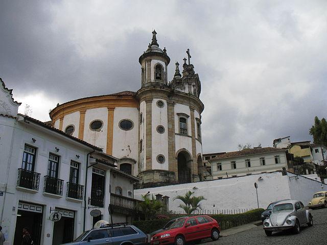 Igreja Rosário dos Pretos - Ouro Preto