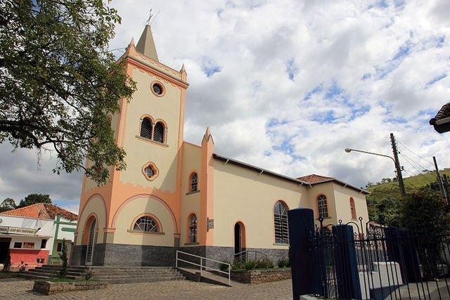 Matriz de Nossa Senhora da Conceição em Silveiras no Vale Histórico