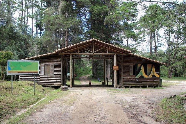 Portaria do Parque Nacional da Serra da Bocaina em São José do Barreiro no Vale do Paraíba