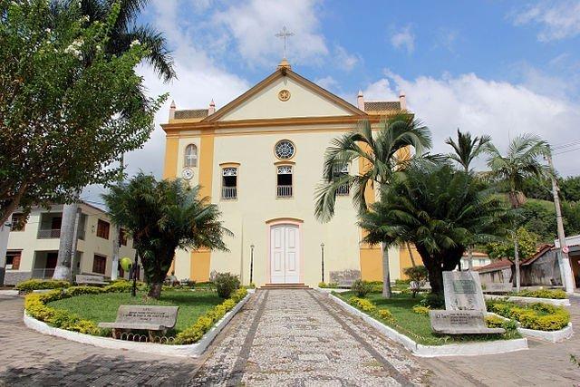 Vale histórico Matriz do Senhor Bom Jesus do Livramento Bananal